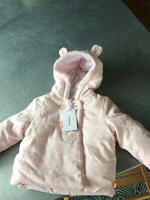 Baby Girl Jasper Conran coat 6-9 months - Brand new with tag