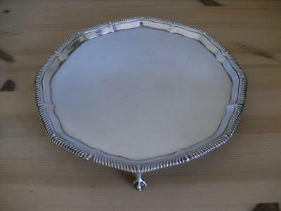 SUPERB STERLING SILVER SALVER TRAY London 1899