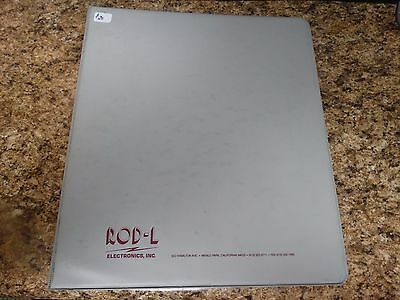 ROD-L M100DC Operation and Service Manual