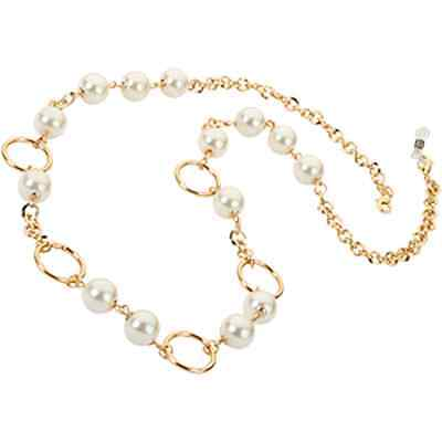 Eyeglass Readers Chain Holder Dangler Lanyard Necklace Aurelia Gold Chain Pearl