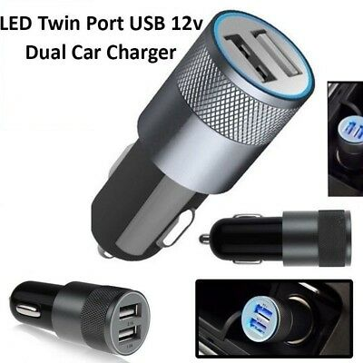 3.1A Dual Universal Charging 2 port Fast USB Car Charger For iPhone & Samsung