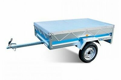 Maypole Grey 5x3 Strong Waterproof PVC Trailer Cover 5ft x 3ft