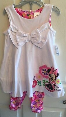 Disney Minnie Mouse Top & Legging Set, 4, NWT