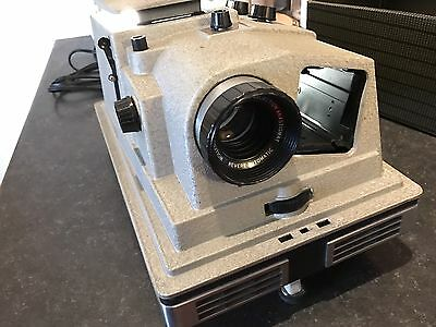 Vintage 1959 Revere Slide Projector P-888D 35mm With Original Sales Receipt