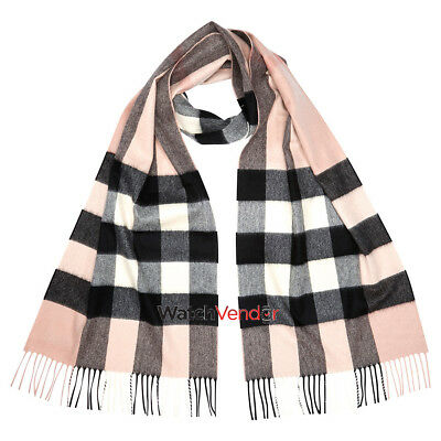 Burberry Classic Cashmere in Check - Ash Rose