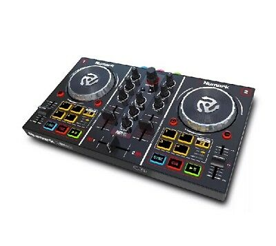 Numark Party Mix DJ Controller with Built-in Light Show Brand-new