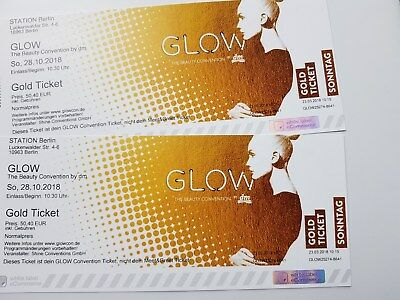GLOW by dm Beauty Convention 2x GOLD Tickets