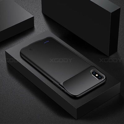 Battery Case Super Slim Portable Power Charger Charging Cover for iPhone X