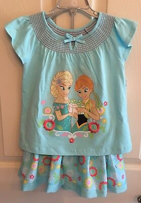 Disney Frozen Fever Skirt Set, 4, NWT