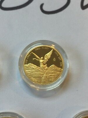 2016 Mexican Libertad 1/10 oz .999 Gold Round Bullion Proof Coin - 2,100 MINTED!