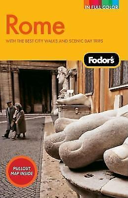 Fodor's Rome, 7th Edition (Full-color Travel Guide)-ExLibrary