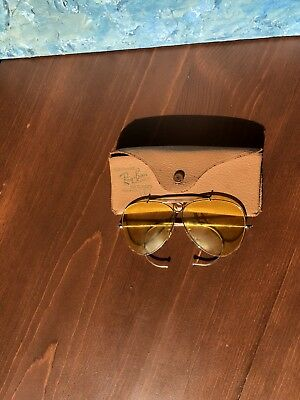 Vintage rare ray bans, Bausch & Lomb kalichrome shooting sunglasses