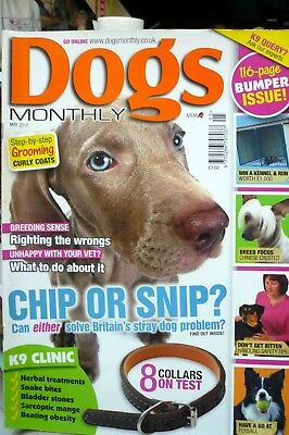 dogs monthly magazine May 2010