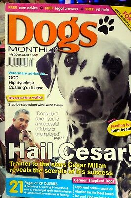 dogs monthly magazine july 2009