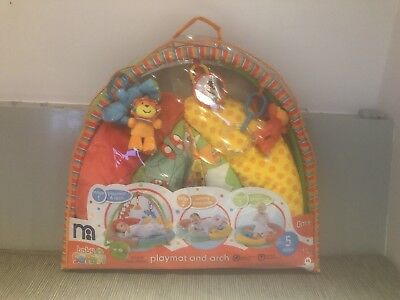 Mothercare 3 Stage Baby Safari Playmat And Arch