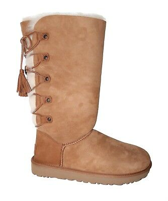 220103d2cb2 UGG AUSTRALIA WOMEN'S Kristabelle Tall Lace Up Boots, Chestnut Size 8
