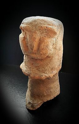 Western Asiatic Style Anthropomorphic Idol 1St Millennium Bc