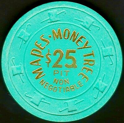 $25 NN Casino chip, Mapes Money Tree, Reno, NV. 1970s. K55.