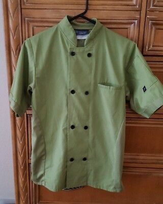 Cook Cool by Happy Chef Shirt Size XS Short Sleeve Button Up
