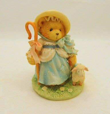 Priscilla Hillman Cherished Teddies Little Bo Peep Dated 1993 #624802