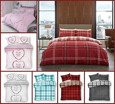 Duvet Quilt Cover Rosanne with Pillowcases Poly-Cotton Size Single Double King