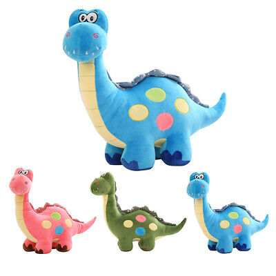 Cute Kids Stuffed Cartoon Dinosaur Plush Animal Doll Soft Toy Birthday Gift AU