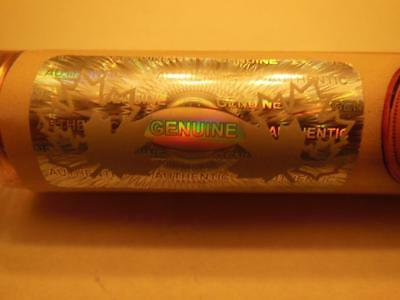 1-2012 Roll Hologram Wrap Copper Plated Steel Canadian Penny Very Rare Magnetic!