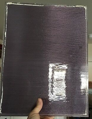 """13""""X17"""" SCA Early Sheet Prism Glass Pane 1890's Luxfer Stained Victorian Window"""