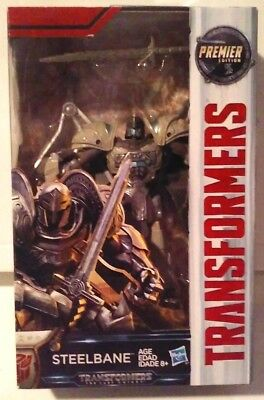 Transformers The Last Knight Premier Edition Deluxe SteelBane New MISB