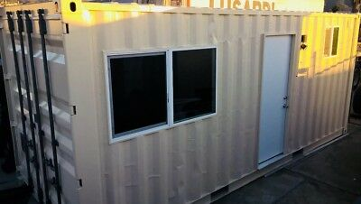 Shipping Container Home/ Tiny Home. Full Kitchen, Full Bath 20ft