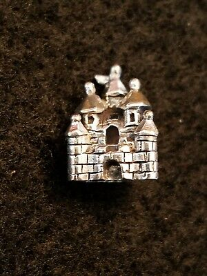 NEW Ohm Beads Sterling Silver FAIRYTALE CASTLE Bead European Charm AHS004