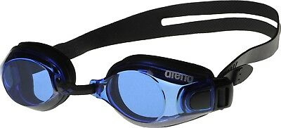 arena Schwimmbrille Zoom X-Fit, Black- Blue, One size, 92404