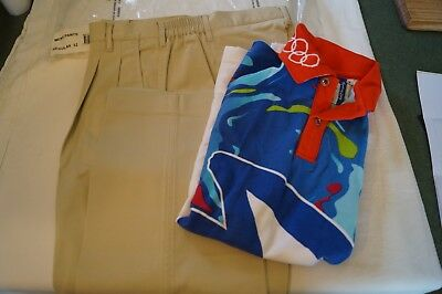 Olympic Games Collectable - Sydney - 2000 - Games Staff Polo and Pants Set