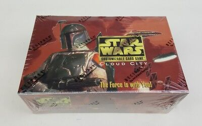 Star Wars Cards CCG Cloud City Sealed Booster Box Decipher 1997 Oz Seller