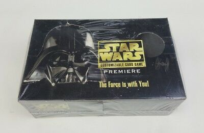 Star Wars CCG Premiere Booster Box Decipher Factory-Sealed 1995 Oz Seller