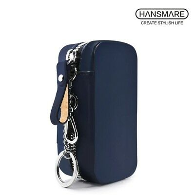 HANSMARE Italy Leather Holder Case for iQOS Electronic Cigarette Navy Made KOREA