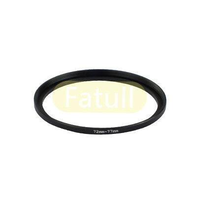 NEW 72mm-77mm Step-up Metal Filter Adapter Ring