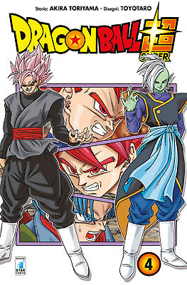 Manga - Star Comics - Dragon Ball Super 4 - Nuovo !!!
