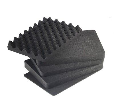 B&W outdoor.cases pre-cut foam (SI) for outdoor.case type 5000 - The Original