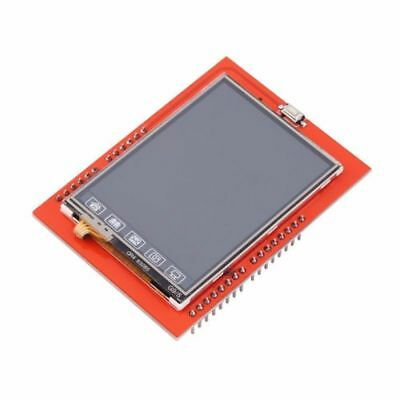"""USA 2.4"""" TFT LCD Shield Touch Panel Module TF Reader Micro SD For Arduino UNO R3"""