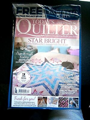 Today's Quilter Magazine Issue 34 With Free Project Book (new) 2018