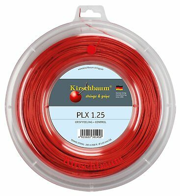 Kirschbaum PLX 1.25mm Tennis String 200m Reel *NEW / Free P&P*