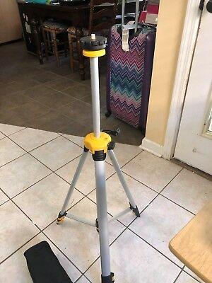 "DeWalt DW0881 Tripod. New in the box. 24 to 67 Inches. 1/4"" pin"