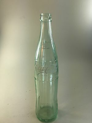 Vintage 16 oz Coca Cola Coke Green Glass Bottle Youngstown, OHIO