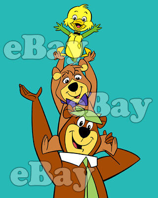 Rare! YOGI BEAR SHOW Cartoon Color TV Photo HANNA BARBERA Studios YAKKY DOODLE