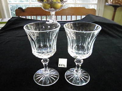 "Pair Waterford ""innisfail"" Goblets, 6 3/4""h, Excellent Condition"