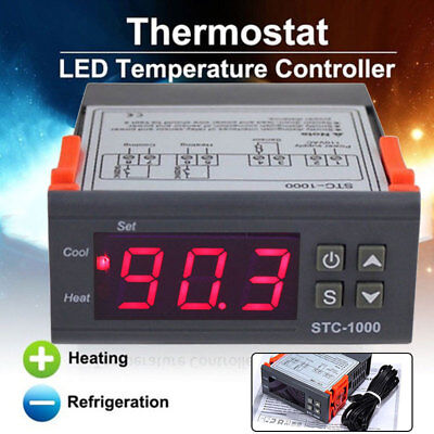 STC-1000 Durable Automatic Conversion Fault Alarm Thermostat Warm and Cold