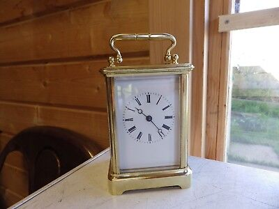 Fully Restored French Carriage Clock very Early Top Quality Clock Jacot ??