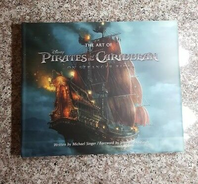 Art of Pirates of the Caribbean - New 1st Edition Hardcover Book, Free Shipping
