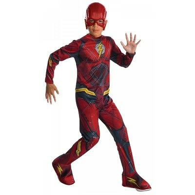 The Flash Costume Justice League Halloween Fancy Dress